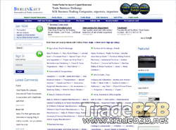 Berlinkauf.com - Trade Leads for Global manufacturers and Exporters