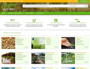 Agroinfomart.com - India's Agricultural Business market directory B2B portal