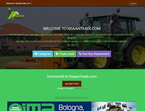 Kisaantrade.com - Top Agriculture B2B Portal India