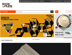 Bookmyparts.com - Buy Industrial Spare Parts & Tools Online B2B Marketplace