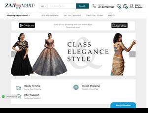 Zaasmart.com - India b2b clothing and  jewelry marketplace