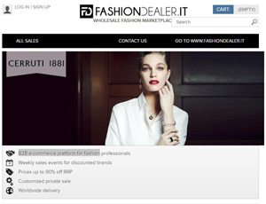 Fashiondealer.it - B2B e-commerce platform for fashion