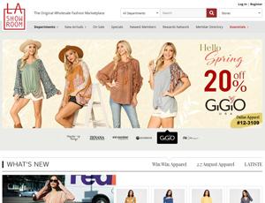 Lashowroom.com - Wholesale Fashion Clothing Marketplace