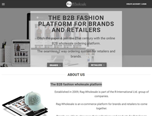 Rag-wholesale.com - The B2B fashion wholesale platform