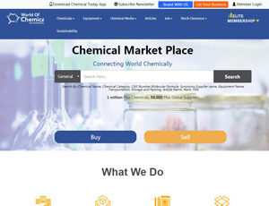 Worldofchemicals.com - Buy and Sell Chemicals B2B Portal