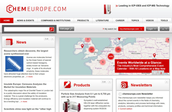 Chemeurope.com - The chemistry information portal from laboratory to process