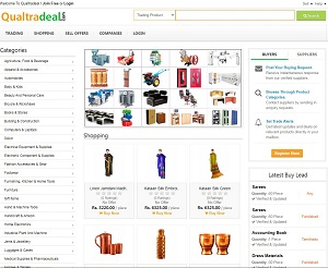 Qualtradeal.com - B2B Indian Manufacturers,Exporters and Suppliers