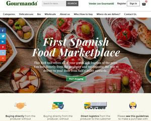 Gourmandd.com - B2B Spanish food supplier marketplace