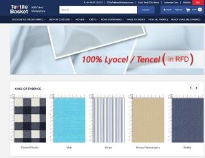 Textilebasket.com - India Textile fabric Marketplace