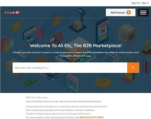 Alietc.com - Business to business marketplace