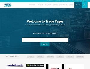 Tradepages.co.uk - UK B2B Trade Marketplace
