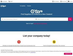 Yoys.nz - New Zealand b2b marketplace