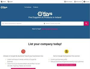 Yoys.ie - Ireland b2b marketplace