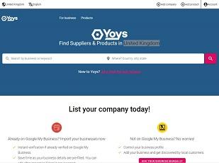 Yoys.co.uk - United Kingdom B2B Marketplace