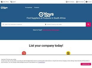 Yoys.co.za - South Africa B2B Marketplace