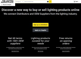 Lightingmarketplace.com - B2B marketplace for lighting distributors