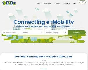 B2bev.com - Electric Vehicle B2B Platform