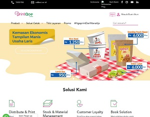 Printqoe.com - Indonesia B2B & B2G Percetakan platform