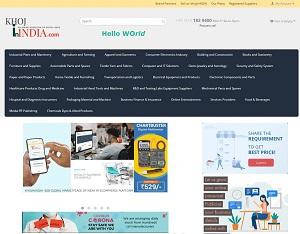 Khojinindia.com - India buy & sell B2B Portal
