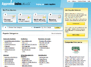 ApprovedIndex.co.uk - UK based business to business marketplace