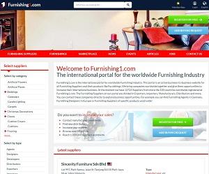 Furnishing1.com - B2B Portal for Furnishing Industry