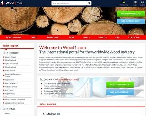 Wood1.com - B2B Portal for Wood Industry