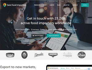 Bestfoodimporters.com - Business databases for food industry