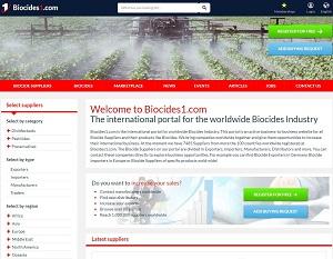 Biocides1.com - B2B portal for Biocides Industry