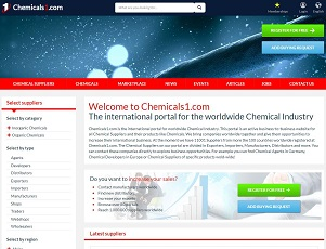 Chemicals1.com - B2B Portal for Chemical Industry