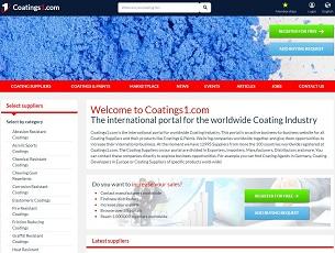 Coatings1.com - International B2B Coating Portal