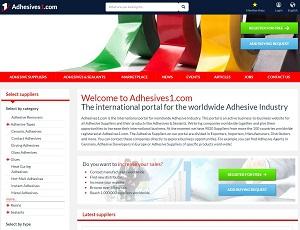 Adhesives1.com - International B2B Adhesive Portal