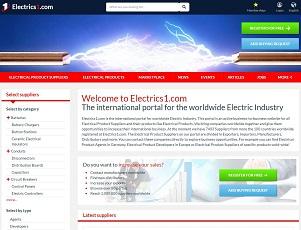 Electrics1.com - International B2B Electrical Portal