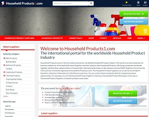 Householdproducts1.com - B2B Portal for Household Product Industry