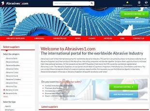 Abrasives1.com - Abrasives B2B Portal