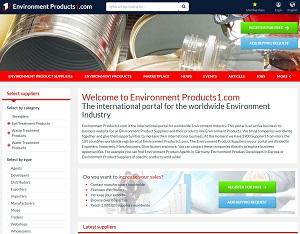 EnvironmentProducts1.com - International b2b portal for Environment Industry