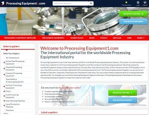 ProcessingEquipment1.com - ProcessingEquipment B2B Portal