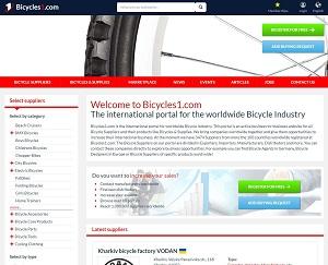 Bicycles1.com - Bicycle B2B Trade Portal
