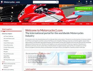 Motorcycles1.com - Motorcycle B2B Trade Portal