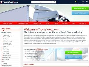 TrucksWeb1.com - Truck B2B Trade Portal