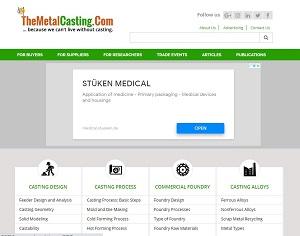 Themetalcasting.com - Metal Casting B2B Portal