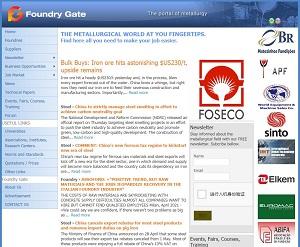 Foundrygate.com - Metallurgical and Mechanical supply Portal