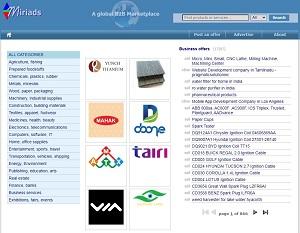 Miriads.com - Business-to-Business (B2B) marketplace