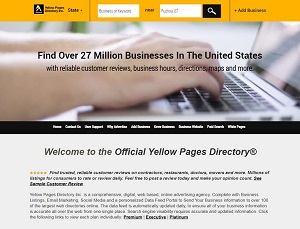 Yellowpagesdirectory.com - Official Yellow Pages Directory