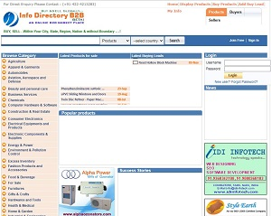 Infodirectoryb2b.com - B2B Directory for India Suppliers & Exporters