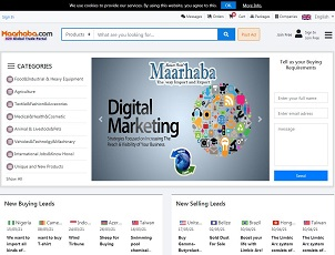 Maarhaba.com - Free Import & Export B2B Portal