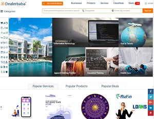 Dealerbaba.com - Indian Manufacturers & Suppliers B2B Business Directory