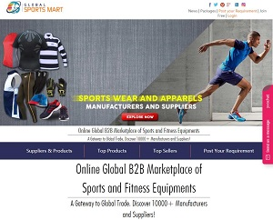Globalsportsmart.com - Global B2B Marketplace of Sports and Fitness Equipments