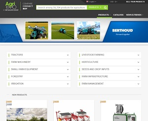 Agriexpo.online - Agricultural machinery equipment b2b marketplace