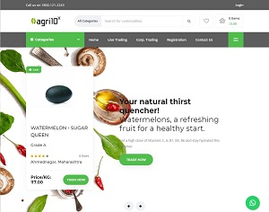 Agri10x.com - India Agriculture B2B e-Marketplace for farmers