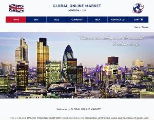 Globalonlinemarket.co.uk - B2B Online Trading Platform